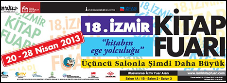 18. İzmir Kitap Fuarı Başlıyor