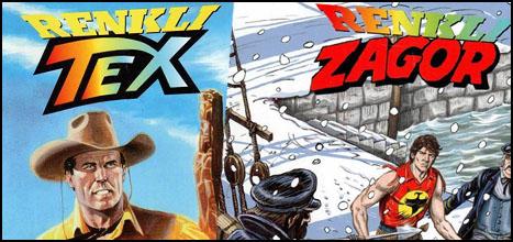 Tex ve Zagor Renklendi!