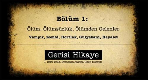 Anadolu Korku Öyküleri Yazarlarından Podcast Serisi: Gerisi Hikaye