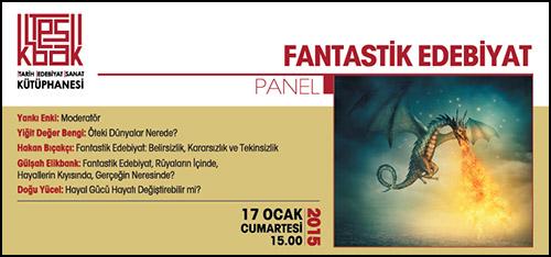 Kadıköy'de Fantastik Edebiyat Paneli