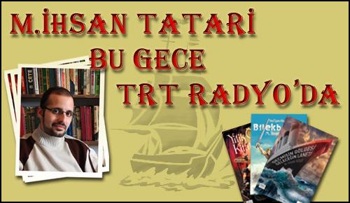 TRT Radyo'ya Bir Kez Daha Konuğuz! Hem de Bu Gece