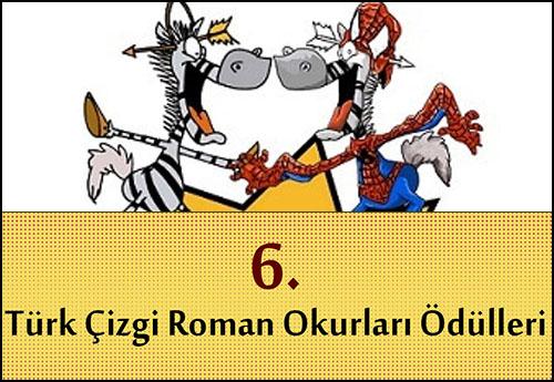 6. Türk Çizgi Roman Okurları Ödülleri Oylaması Sonuçlandı