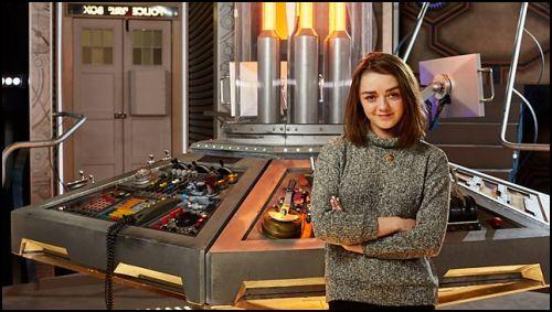 Arya Stark, Dr.Who'ya Konuk Oluyor!