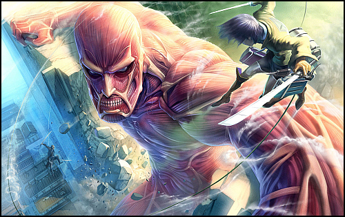 Attack On Titan, Mangasıyla Saldırıya Hazır!