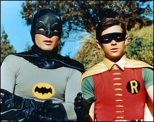 Nostaljik Batman: Adam West Ve Burt Ward İle Bir Kez Daha!