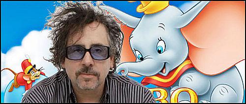 """Tim Burton Bu Sefer """"Dumbo"""" İle Gönlümüzü Fethedecek"""
