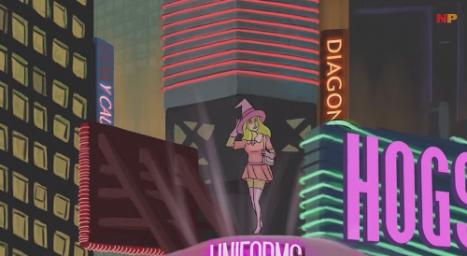 Harry Potter, 80'lerin Cyberpunk Animesi Olsaydı?