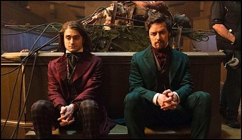 Frankenstein Uyarlamasında Daniel Radcliffe ve James McAvoy'a İlk Bakış