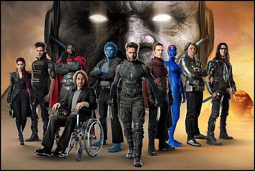 X-Men: Apocalypse'ten Jubilee ve Jean Grey Görüntüleri Sızdı