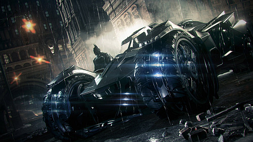 Batmobile Suicide Squad'da Göründü!