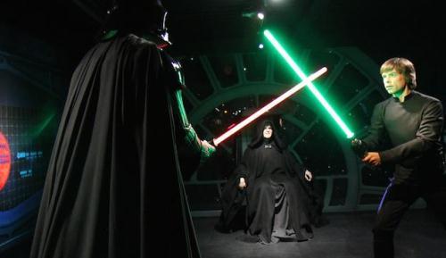 Darth Vader, Luke, Yoda ve Daha Fazlası Balmumu Olarak Londra'da!
