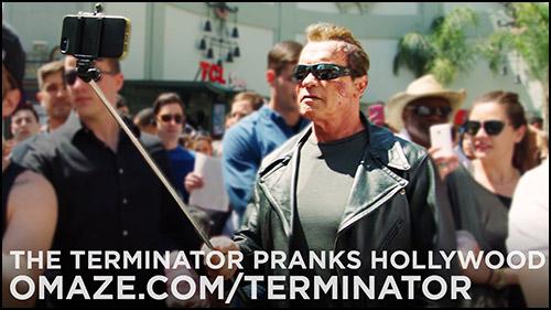"""Schwarzenegger, """"Terminator"""" Şakasıyla Korkuttu"""