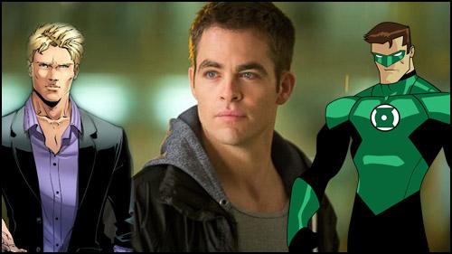 Chris Pine, Wonder Woman'da Göründükten Sonra Green Lantern Mı Olacak?