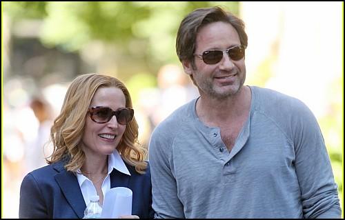 The X-Files'ın Çekimleri Başladı!