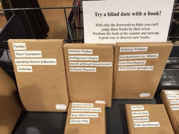 """Amsterdam'da Bir Kitabevi: """"Bir Kitapla Körlemesine Tanışın"""""""