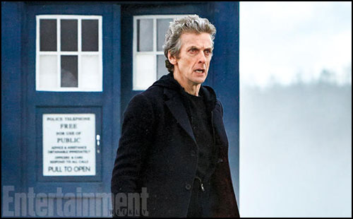 Peter Capaldi, Dr. Who 9. Sezonu ve Maisie Williams Hakkında Konuştu
