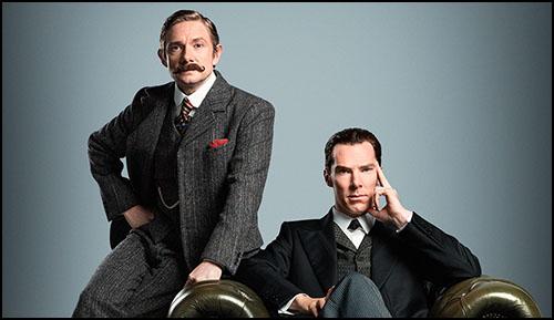 Sherlock'un Noel Özel Bölümünden İlk Görsel Yayınlandı