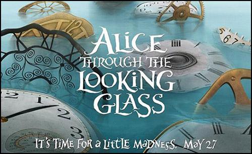 Alice Harikalar Diyarında'nın Devam Filminden İlk Posterler Görücüye Çıktı