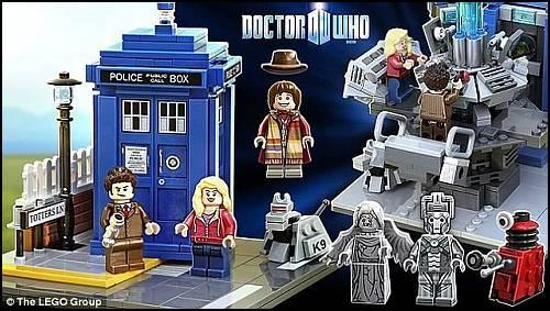 Doctor Who Temalı Yeni LEGO Seti Harika Görünüyor!