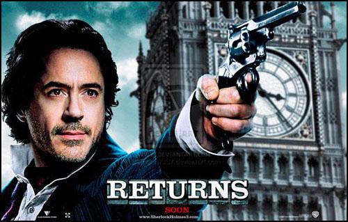 Sherlock Holmes'ün 3. Filmi Ufukta Göründü!
