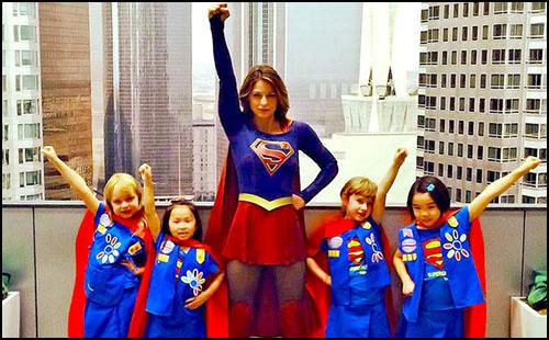 Bu Yeni Supergirl Takımı Tatlılıktan Geçilmiyor