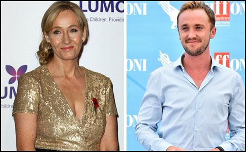 """J.K. Rowling ve Tom Felton'dan """"Draco Benim Erkek Arkadaşım"""" Konseptine Cevap"""