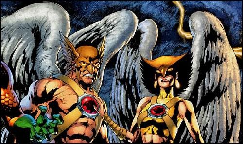 Hawkgirl ve Hawkman'den İlk Görüntü Geldi!