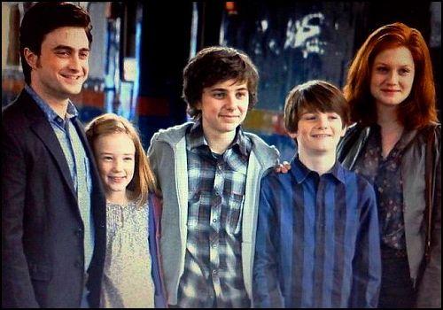 James Sirius Potter, Hogwarts'taki İlk Gününe Başladı
