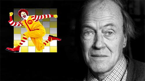 İngiltere'deki McDonalds'lar Menü Yanında Roald Dahl Kitapları Hediye Edecek