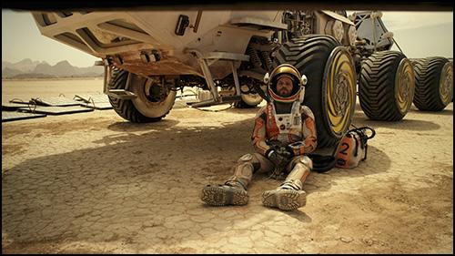Mars Görevindeki Astronotlar Uzayda Marslı'yı İzledi