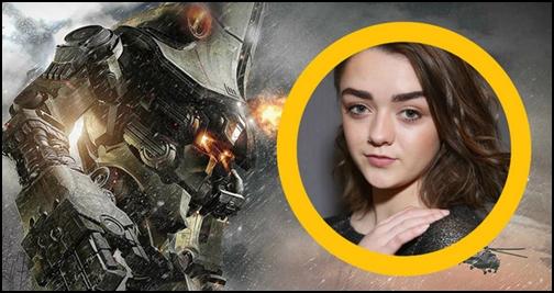 del Toro Pasific Rim 2 İçin Maisie Williams'ı İstiyor