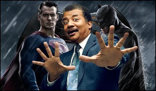 Neil deGrasse Tyson, Batman ve Superman'in Kapışmasına Bir de Iron Man'i Ekledi