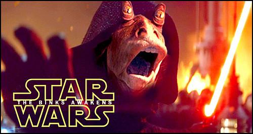 """Star Wars Hayranlarından """"Jar Jar Binks Uyanıyor"""" Parodisi"""