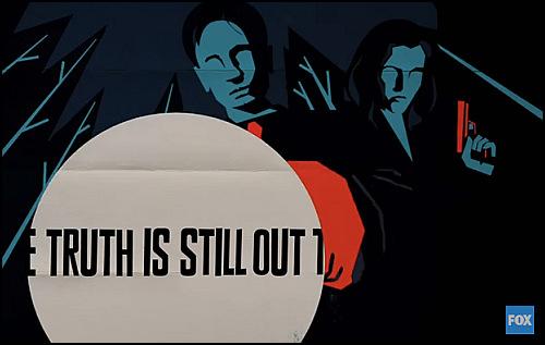 The X-Files'ın Yeni Sezonundan Animasyon Tadında Bir Fragman
