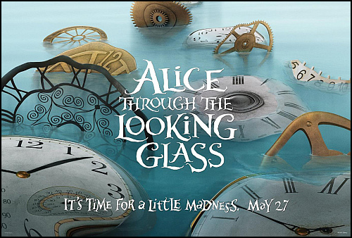 Alice Through The Looking Glass Filminden İlk Fragman