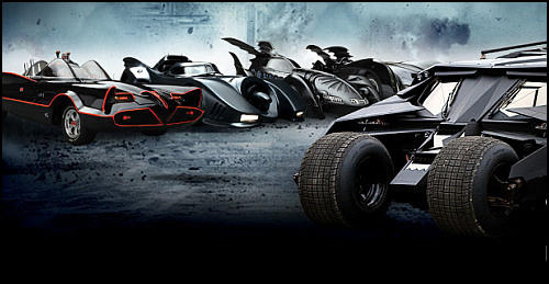 Batmobil'in Beyazperdedeki Evrimi