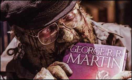 George R. R. Martin Zombi Oldu!