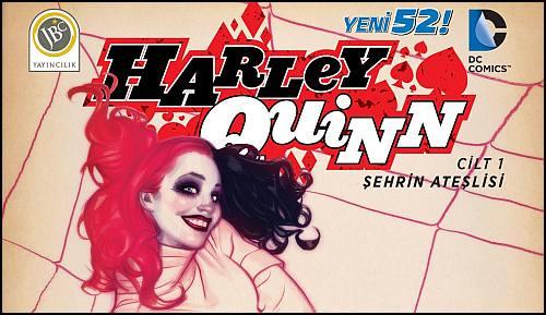 Kaçın! Harley Quinn Türkiye'ye Ayak Bastı!