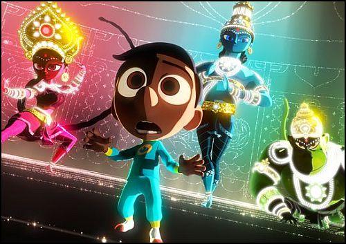 """Pixar'ın Yeni Animasyonu Hint Mitolojisine El Atıyor: """"Sanjay's Super Team"""""""