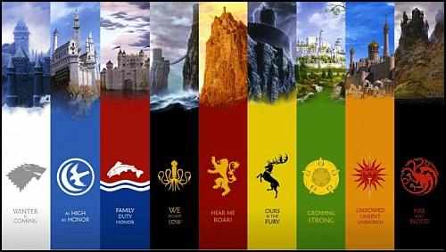 """""""Game of Thrones: The Noble Houses of Westeros"""" Hanedanlara Yakın Bakış Sunuyor"""