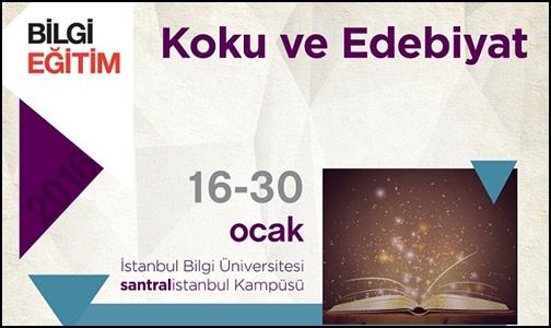 """İstanbul Bilgi Üniversitesi'nde """"Koku ve Edebiyat"""" Var"""