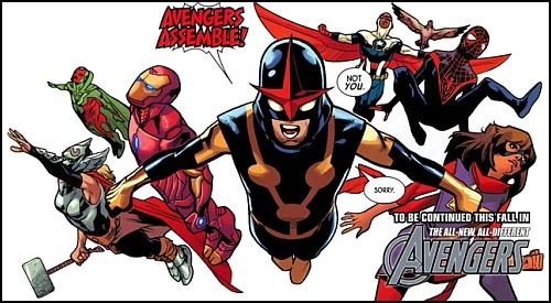 """Marvel Comics """"Üçüncü"""" Avengers Ekibini Tanıttı"""