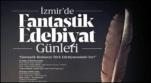 İzmir'de Fantastik Edebiyat Günleri