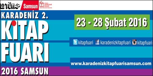 Karadeniz 2. Kitap Fuarı Yarın Başlıyor!