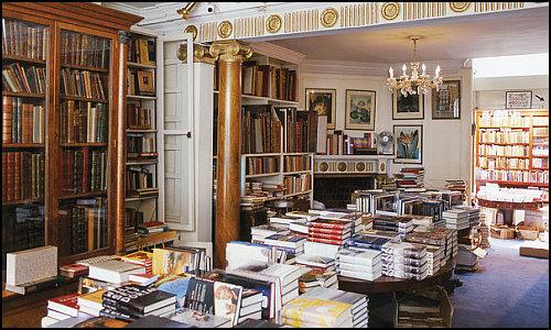 Pek Çok Muhteşem Kütüphanenin Ardındaki Gizli Kahraman, Küçük Bir Londra Kitapçısı!