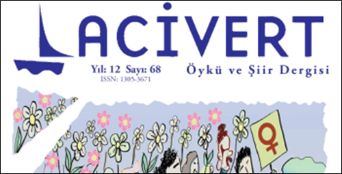"""Lacivert Dergisi'nde """"İran Edebiyatı"""" Var!"""