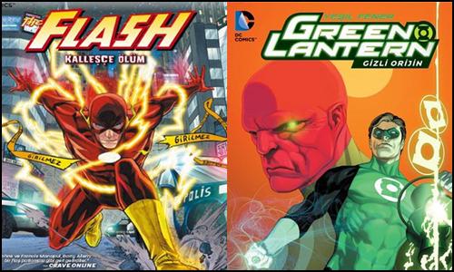Arkabahçe'den Yeni Flash ve Green Lantern Ciltleri
