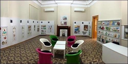 """Kağıt ve Kitap Sanatları Müzesi'nin Yeni Bölümü """"Çocuk Dünyasının Ressamları"""" Açıldı!"""
