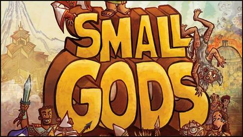 """Terry Pratchett'ın """"Küçük Tanrılar""""ı Bu Defa Grafik Roman Oldu!"""