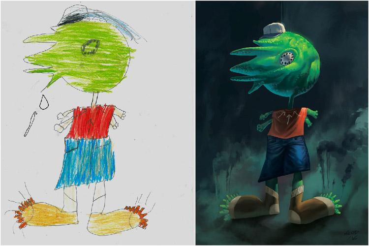 Monsters-by-Kids-Ahmet-Oguz-Demir